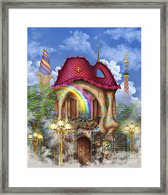 Dreams Of Gaudi Framed Print by Ciro Marchetti