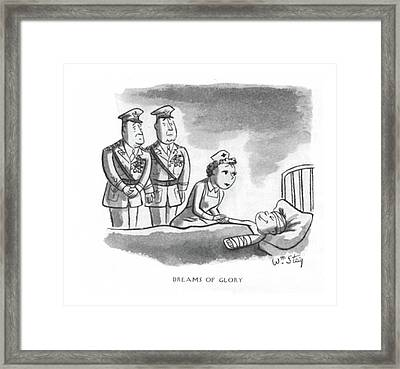 Dreams Of Glory Framed Print by William Steig