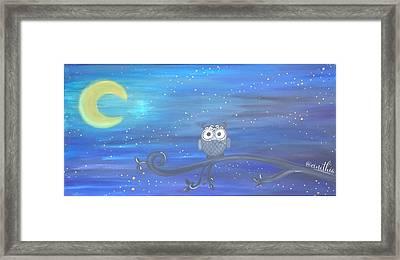 Dreams Of Starry Nights Framed Print