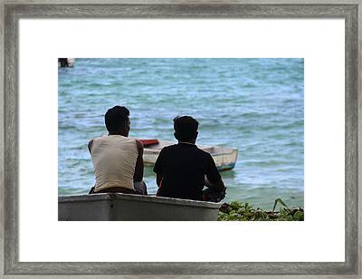 Dreams Of The Sea Framed Print