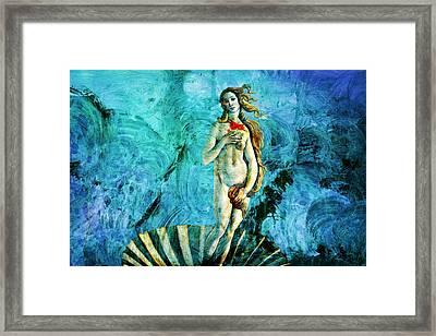 Dreams Of Venus Framed Print
