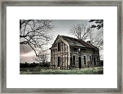 Dreams Of Yesterday Framed Print by Gregory Ballos