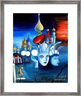 Dreams Framed Print by Pilar  Martinez-Byrne