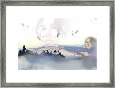 Dreams Soar Framed Print by Lisa Knechtel