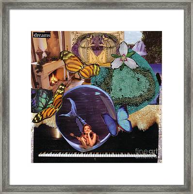 Dreams Version 2 Framed Print by Leslie Jennings
