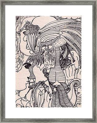 Dreams Visions Framed Print by Lois Picasso