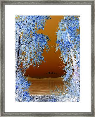 Dreamscape .. Lake Tahoe Framed Print