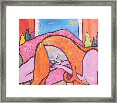 Dreamscape Framed Print by Chaline Ouellet