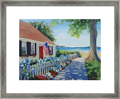 Dreamscape Framed Print by Laura Lee Zanghetti