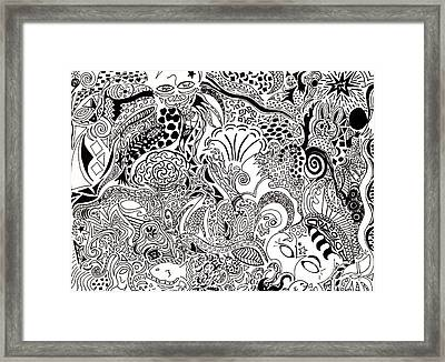 Dreamscape Framed Print by M West