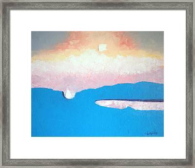 Dreamscape Vi Framed Print by Laura Tasheiko