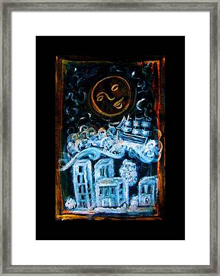 Dreamsequence 3 Dreamglider Framed Print by Mimulux patricia no No