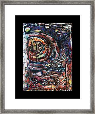 Dreamsequence No. 2 - Monster In A Bubble Framed Print by Mimulux patricia no No