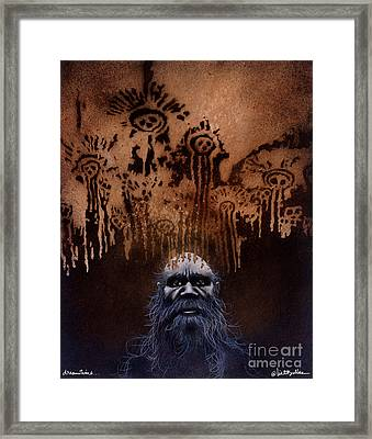 Dreamtime... Framed Print by Will Bullas