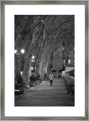 Dreamwalking Framed Print by Emmanouil Klimis