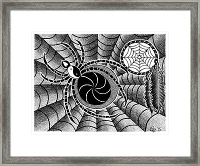 Dreamweaver Framed Print