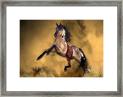Dreamweaver Framed Print by Valerie Anne Kelly