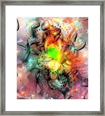 Dreamworld Colors By Nico Bielow Framed Print