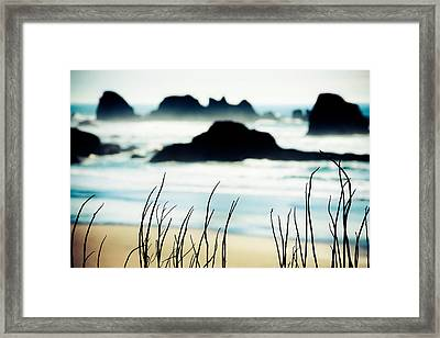 Dreamy Beach Framed Print