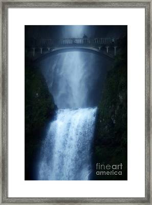 Dreamy Bridge Framed Print