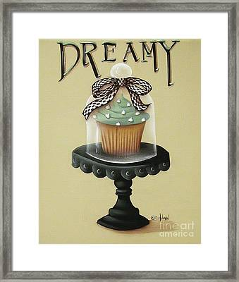 Dreamy Cupcake Framed Print by Catherine Holman