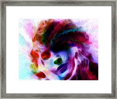 Dreamy Face Framed Print by Steve K