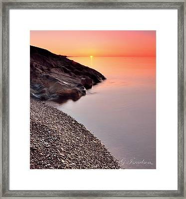 Dreamy Framed Print by Gregory Israelson