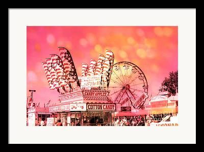 Carnival Fun Festival Art Decor Framed Prints