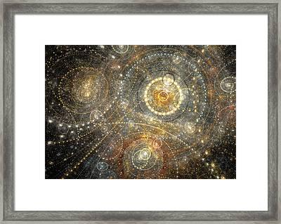 Dreamy Orrery Framed Print