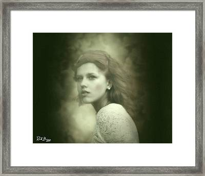 Dreamy Red Framed Print by Rick Buggy