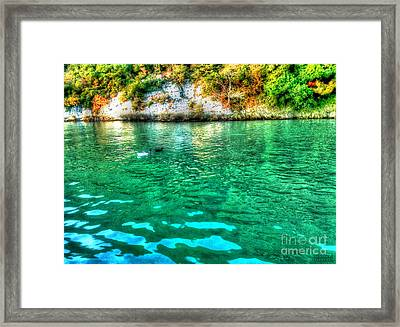 Framed Print featuring the photograph Dreamy River by Hanza Turgul