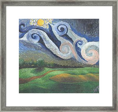 'dreamy Sky' Framed Print