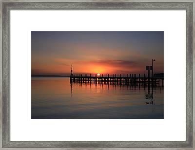 Dreamy Sunset Framed Print