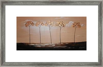 Dreamy Sunset Framed Print by Mariya Kazarinova