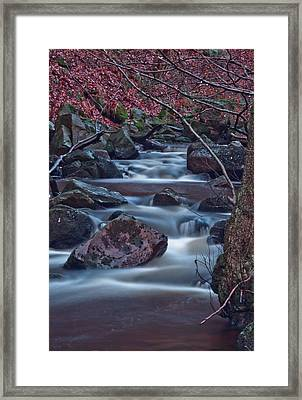 Dreamy Water  Framed Print by Brendan Quinn