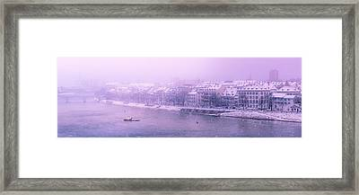 Dreamy Winterscape Framed Print