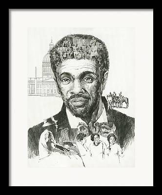 Freed Slaves Framed Prints
