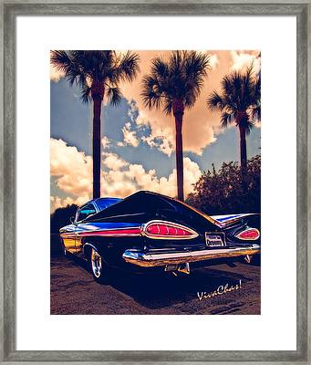 Dreemy 59 Impala - How Do U Live W/o It? Framed Print