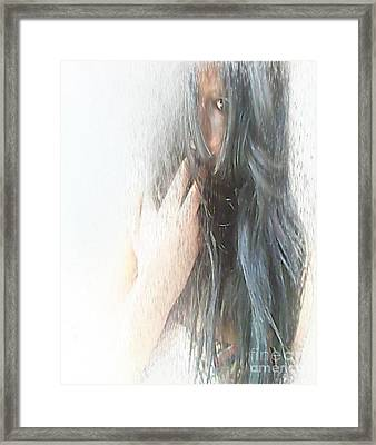 Drenched Guilt Framed Print by Rc Rcd