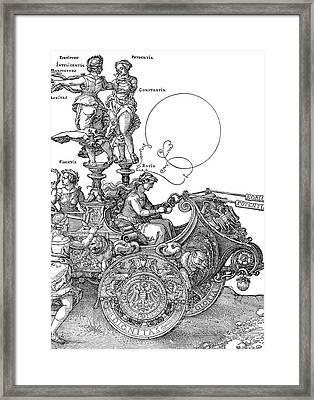 D�rer Triumph Car, 1518 Framed Print