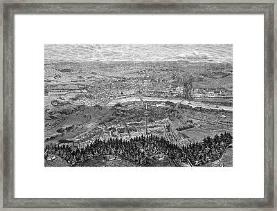 Dresden Framed Print by Bildagentur-online/tschanz