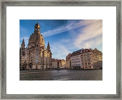 Dresden Frauenkirche Framed Print