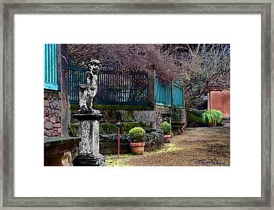 Dresden Guest House Framed Print
