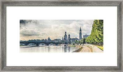 Dresden Framed Print by Thomas Christoph