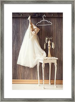 Dress Framed Print by Amanda Elwell