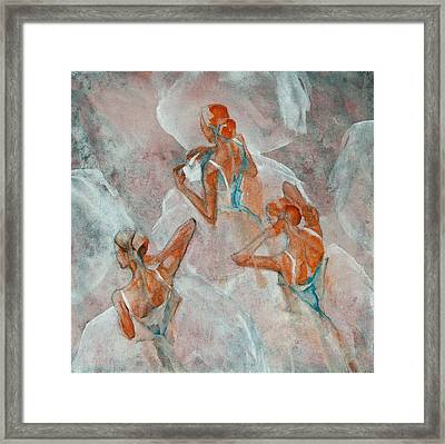 Dress Rehearsal Framed Print by Jani Freimann