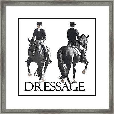 Dressage II Framed Print