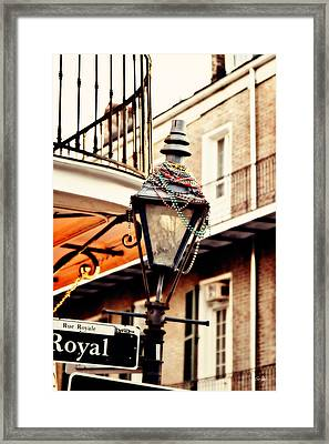 Dressed For The Party Framed Print by Scott Pellegrin