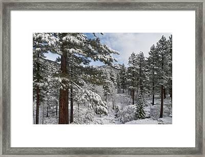 Distant Peak Framed Print