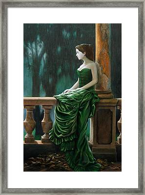 Dressed Up For Nothing Framed Print by Tim Davis